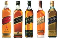 JOHNNIE WALKER BLACK/ BLUE/RED
