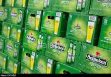 Heineken Beer , Cans and Bottles