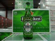Green bottle Heineken lager
