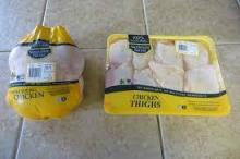 Frozen Chicken and Chicken Parts