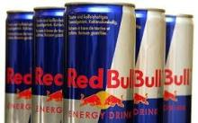 Red Bull, Monsters energy drinks etc