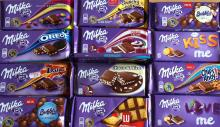 Milka Alpine Milk Chocolate Raisin&Nut 20*100g