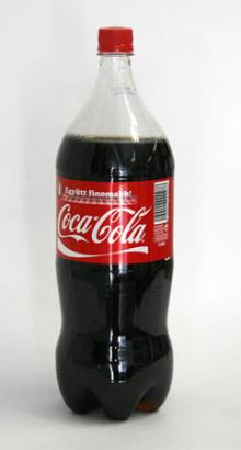 COCA-COLA bottle 2l