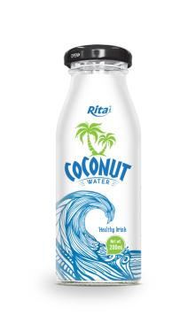 200ml glass bottle Coconut water