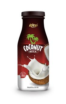 280ml glass bottle Coconut Milk