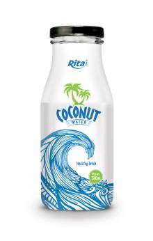 280ml glass bottle Coconut Water