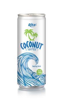 250ml aluminum can Coconut Water