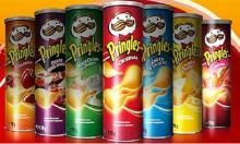 Pringles Potato Chips 18x165g