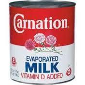 Nestle Carnation Evaporated Condensed Milk