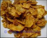 Fried emping belinjo cracker