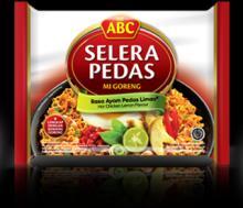 Fried ABC instant noodle