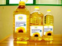 soybean oil, sunflower oil rapeseed oil corn oil and crude palm oil