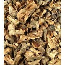 Dried straw mushrooms