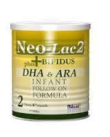 Neo lac baby formula 1-2-3