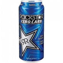 Rockstar Zero Carb Energy Drink - 24 pack, 16 fl oz can