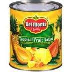 Dole Tropical Fruit Salad In Light Syrup - 106 oz can
