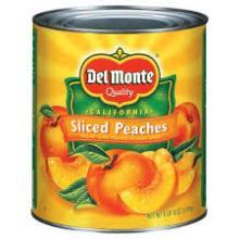 Seneca Diced Peaches In Light Syrup - 106 Oz