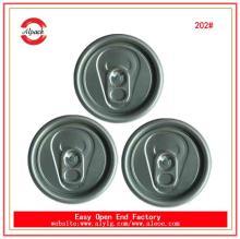 202# 52mm Helena aluminum peel off lids