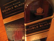 Johnny Walker Double Black, Black label, Blue label Red label, Double black