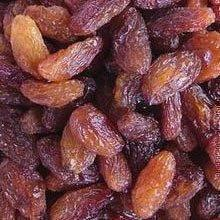 All types of raisins green raisin red raisin golden raisin