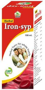 Ferrovitec Syrup Herbal Honey Herbs Iron Syrup Vitamin Syrup