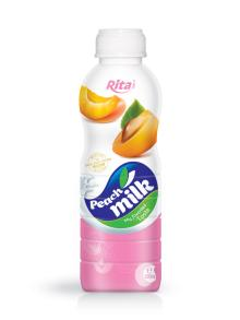 500ml PP bottle Peach Milk