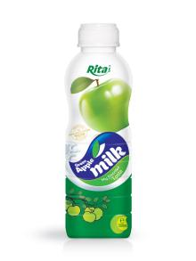 500ml PP bottle Fruit Milk Green Apple Flavour