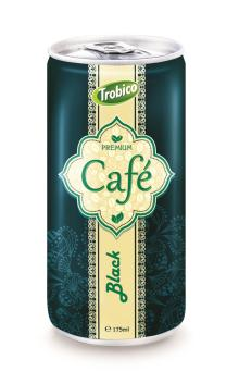 175ml aluminum can Black Coffee drink
