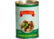 Canned SALTY PEELED STRAW MUSHROOM