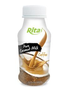 250ml PP bottle Coconut Milk with Coffee
