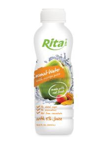 500ml PP bottle Coconut Water with Mango Juice