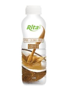 500ml PP bottle Coconut Milk with Coffee