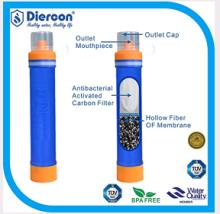 Diercon outdoor camping personal water filter straw (PS01)