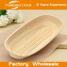 Eco-friendly and disposable hot selling  handmade  oval brotform/ oval brotform baskets
