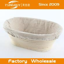 Durable and washable handmade rattan banneton/bread proofing baskets