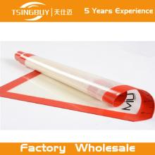 Non-stick Heat resistant fiberglass fry silicone baking mat for  oven /kitchen silicon baking mat