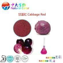 natural food colour/color cabbage red pigment maker/manufacturer