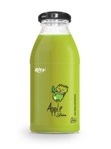250ml glass bottle Apple Juice drink