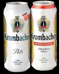 Krombacher beer