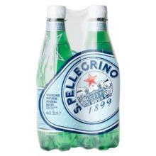 San Pellegrino Sparkling Natural Mineral Water (4x500ml)