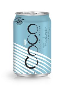 330ml Alu Can Blueberry flavour Coconut Water