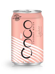 330ml Alu Can Lychee flavour Coconut Water