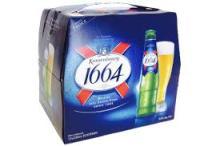 French Origin Kronenbourg 1664 blanc beer in blue 25cl Best French Kronenbourg 1664 blanc bottles