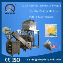 Green Tea Triangle Nylon Bag Packaging Machine, China Supplier!