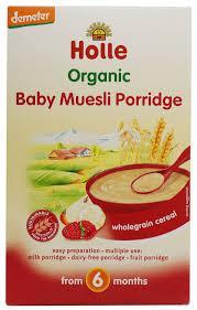 Holle baby muesli porridge 250g