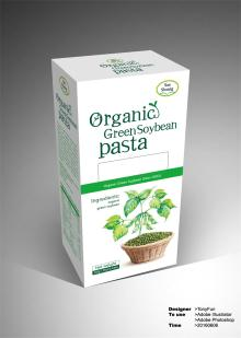 Organic Green Soybean Spaghetti