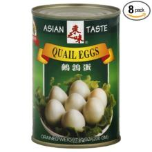 Canned quail eggs for sale