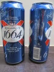 Kronenbourg 1664 Blanc Bottled / Can Beer Exporters