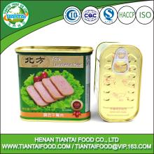 chinese food wholesale canned pork luncheon meat
