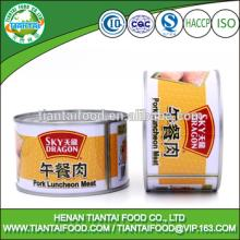 ready to eat food canned pork luncheon meat
